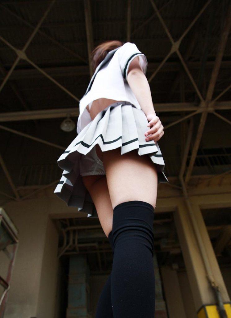 【ニーハイソックスエロ画像】絶対領域を舐めまくりたい!ニーハイソックス履いたロリな美少女のエロ画像集ww【80枚】 57