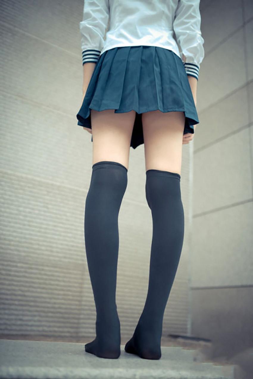 【ニーハイソックスエロ画像】絶対領域を舐めまくりたい!ニーハイソックス履いたロリな美少女のエロ画像集ww【80枚】 63