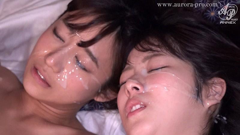 【顔射セックスエロ画像】海外ではCum Shot(カム・ショット)と呼ばれる顔射!フェラ抜きやセックス後のアヘ顔に射精しちゃった顔射のエロ画像集ww【80枚】 49