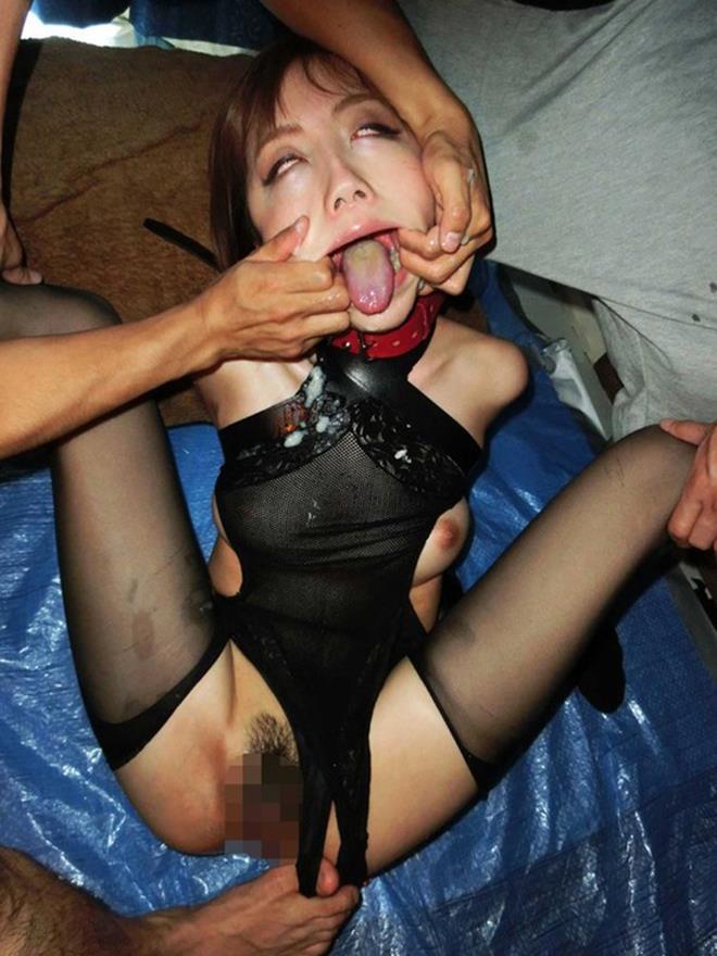 【キメセクエロ画像】セックスが百万倍気持ちよくなるドラッグでキメセク調教されて白目剥きまくってるキメセクエロ画像集!ww【80枚】 52
