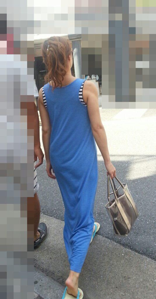 【スエットワンピエロ画像】スエットワンピを着てるヤンママやコンビニで買い物してるJDの透けパン盗撮したり電マで着衣調教しちゃった陶とワンピのエロ画像集ww【80枚】 28