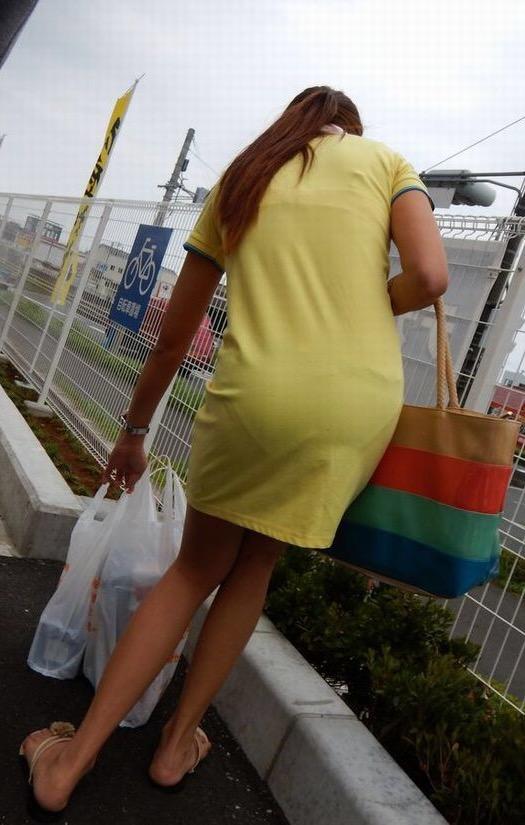 【スエットワンピエロ画像】スエットワンピを着てるヤンママやコンビニで買い物してるJDの透けパン盗撮したり電マで着衣調教しちゃった陶とワンピのエロ画像集ww【80枚】 31