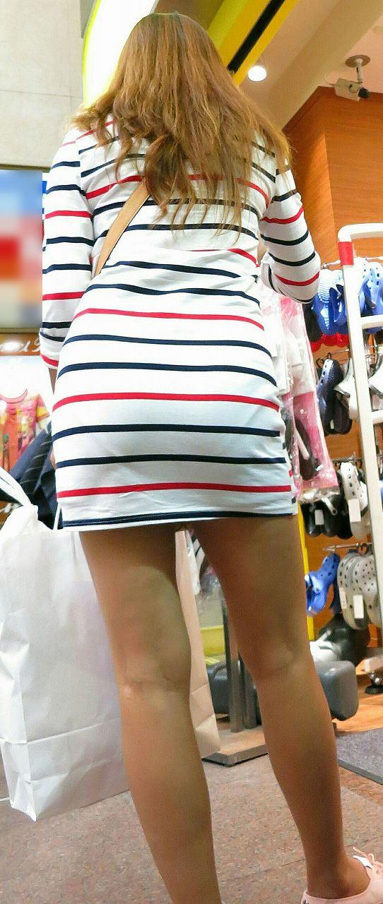 【スエットワンピエロ画像】スエットワンピを着てるヤンママやコンビニで買い物してるJDの透けパン盗撮したり電マで着衣調教しちゃった陶とワンピのエロ画像集ww【80枚】 54