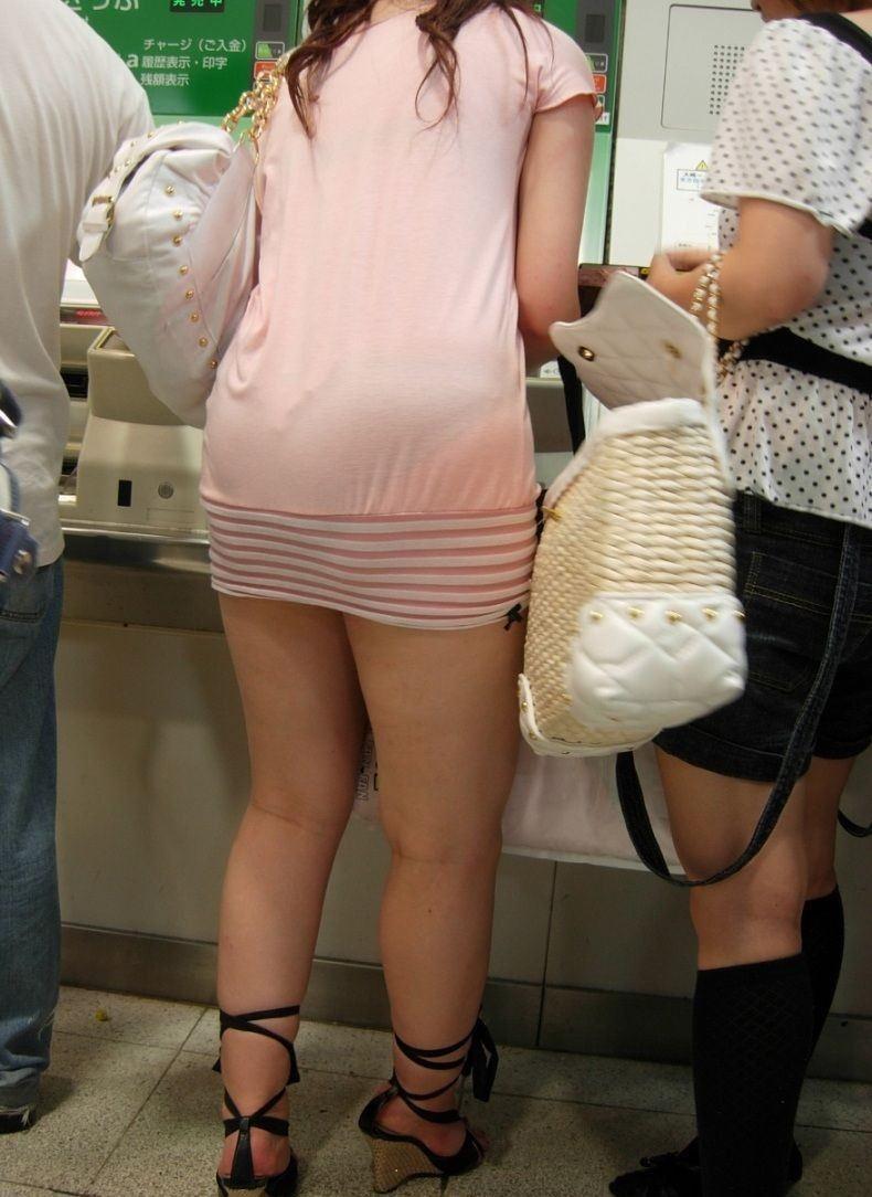 【スエットワンピエロ画像】スエットワンピを着てるヤンママやコンビニで買い物してるJDの透けパン盗撮したり電マで着衣調教しちゃった陶とワンピのエロ画像集ww【80枚】 60