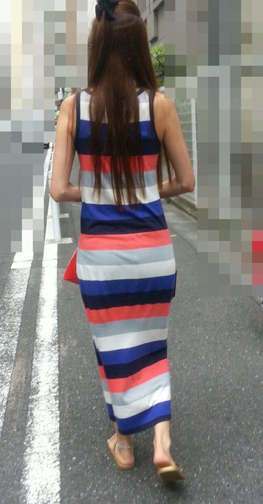 【スエットワンピエロ画像】スエットワンピを着てるヤンママやコンビニで買い物してるJDの透けパン盗撮したり電マで着衣調教しちゃった陶とワンピのエロ画像集ww【80枚】 72