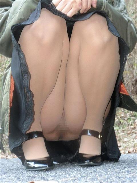 【ノーパンパンストエロ画像】スーツOLのお姉さんのタイトスカートをめくったら陰毛丸見えノーパンパンスト!!痴女とセックスしちゃったノーパンパンストのエロ画像週ww【80枚】 16