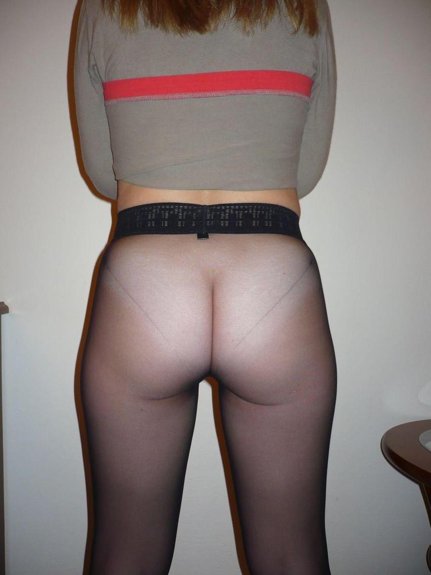 【ノーパンパンストエロ画像】スーツOLのお姉さんのタイトスカートをめくったら陰毛丸見えノーパンパンスト!!痴女とセックスしちゃったノーパンパンストのエロ画像週ww【80枚】 33