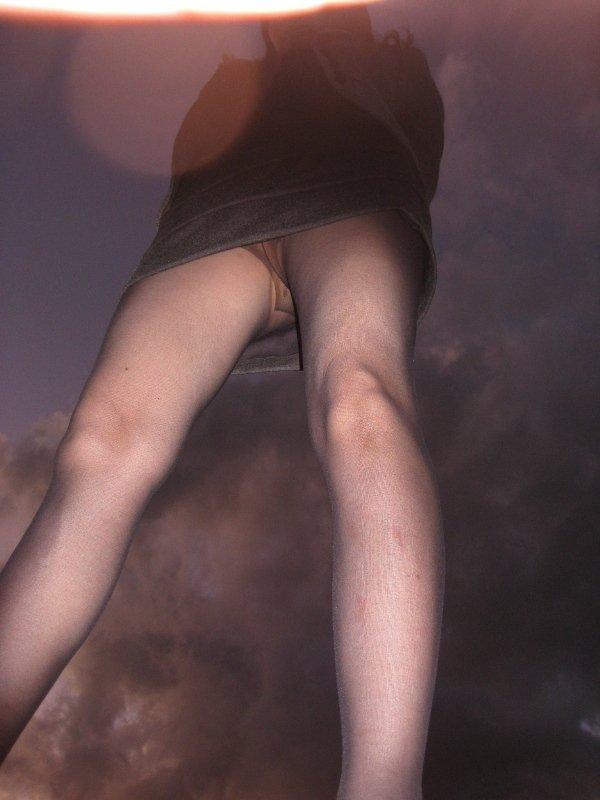【ノーパンパンストエロ画像】スーツOLのお姉さんのタイトスカートをめくったら陰毛丸見えノーパンパンスト!!痴女とセックスしちゃったノーパンパンストのエロ画像週ww【80枚】 62