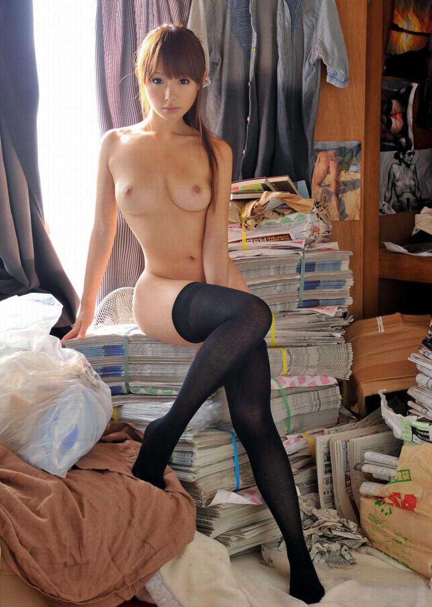 【ハイソックスエロ画像】清楚とエロが入り交じるハイソックス!美脚な美少女にハイソックス履かせたままセックスしたったハイソックスのエロ画像集ww【80枚】 47