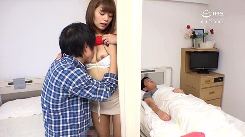 【病室セックスエロ画像】夜勤中の痴女ナースや欲求不満な患者さん、見舞客の変態お姉さん達が病室のベッドで騎乗位ピストンしちゃってる病室セックスのエロ画像集!w【80枚】 66