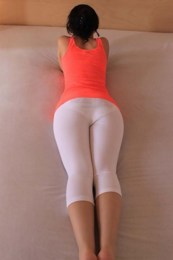 【スパッツエロ画像】デカ尻女子のパンティーラインやモリマンのまんすじがくっきりわかるスパッツのエロ画像集w【80枚】 14