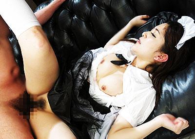 【メイド服エロ画像】童顔美少女にはメイド服でコスプレさせて貧乳吸ってちんぽを挿入wwガーターベルトを装着させて足コキさせたいメイド服のエロ画像集w【80枚】