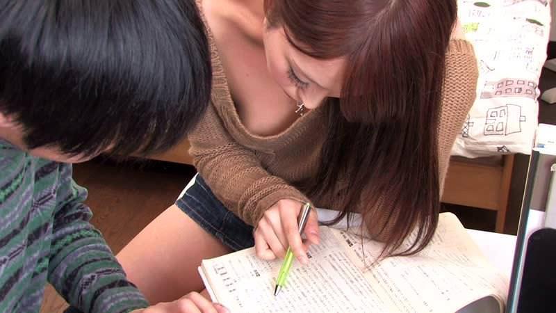 【家庭教師エロ画像】隠れ痴女の家庭教師の先生が頼んでないのに性教育で筆おろししてくれた家庭教師のエロ画像集ww【80枚】 46