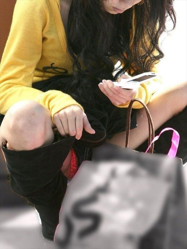 【ショーパンパンチラエロ画像】ショーパンだからパンチラしないと思ってる無防備な素人女子がパンティー見えちゃってるショーパンパンチラのエロ画像集!ww【80枚】 69