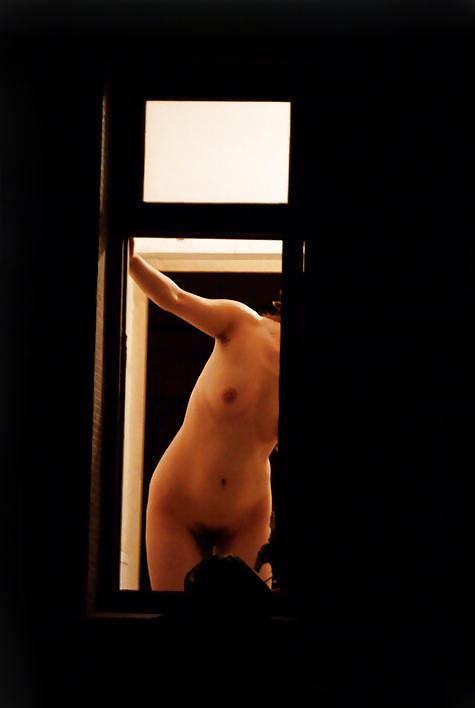 【窓盗撮エロ画像】一人暮らしのJDやOLたちの着替えやオナニー、入浴やセックスを窓から覗いて隠し撮りしたった窓盗撮のエロ画像集ww【80枚】 61