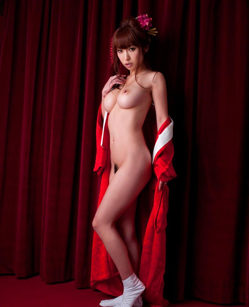 【花魁エロ画像】美し過ぎる着物で着飾ったS級和服美女の花魁が胸チラやご奉仕セックスしてくれる花魁エロ画像集ww【80枚】 49