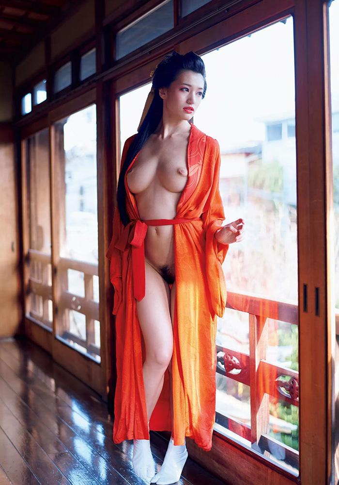 【花魁エロ画像】美し過ぎる着物で着飾ったS級和服美女の花魁が胸チラやご奉仕セックスしてくれる花魁エロ画像集ww【80枚】 65