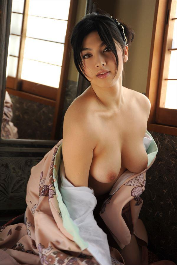 【花魁エロ画像】美し過ぎる着物で着飾ったS級和服美女の花魁が胸チラやご奉仕セックスしてくれる花魁エロ画像集ww【80枚】 69