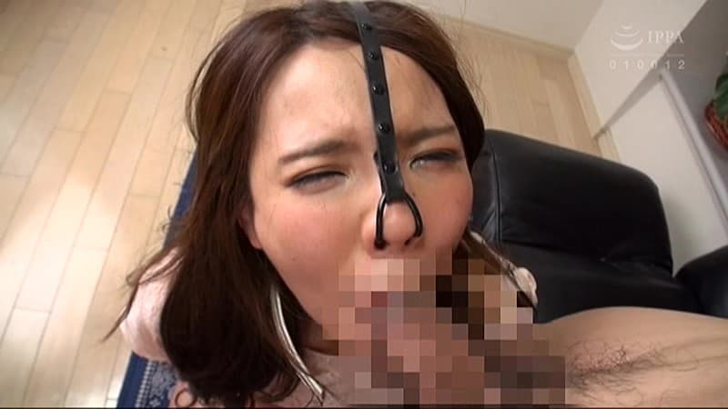 【鼻フックエロ画像】美女に鼻フック装着させておブスな状態でイラマチオや調教セックスすると興奮する事に気が付いてしまった鼻フックのエロ画像集!ww【80枚】 45