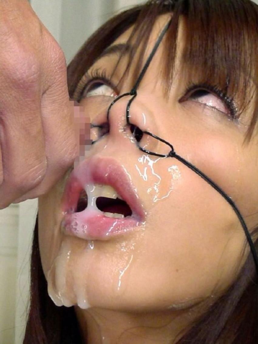 【鼻フックエロ画像】美女に鼻フック装着させておブスな状態でイラマチオや調教セックスすると興奮する事に気が付いてしまった鼻フックのエロ画像集!ww【80枚】 69