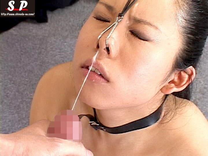 【鼻フックエロ画像】美女に鼻フック装着させておブスな状態でイラマチオや調教セックスすると興奮する事に気が付いてしまった鼻フックのエロ画像集!ww【80枚】 80
