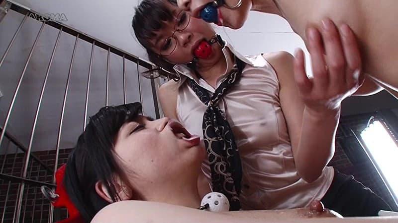 【ボールギャグエロ画像】猿ぐつわ、口枷とも言われるボールギャグでドマゾな女性を唾液まみれにして調教したったボールギャグのエロ画像集www【80枚】 40