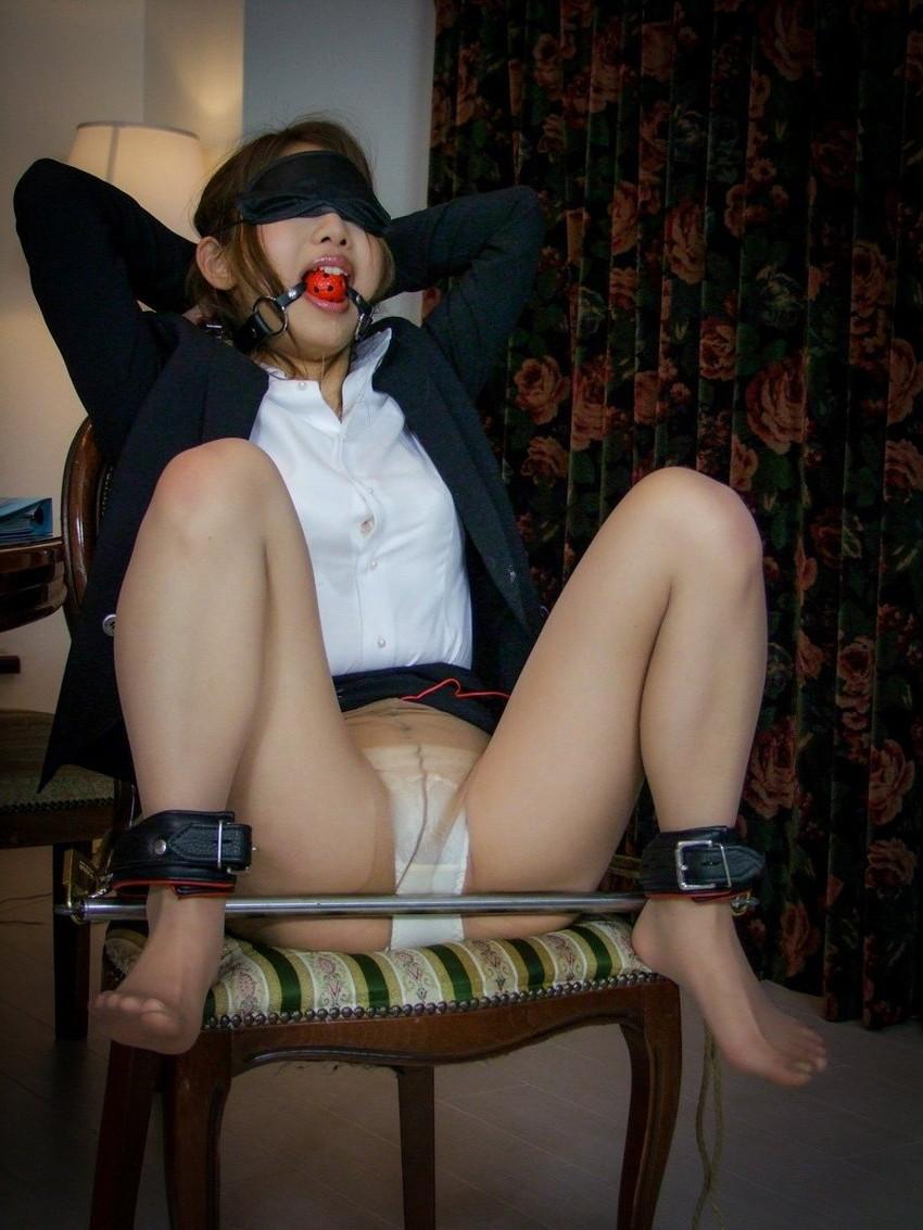 【ボールギャグエロ画像】猿ぐつわ、口枷とも言われるボールギャグでドマゾな女性を唾液まみれにして調教したったボールギャグのエロ画像集www【80枚】 69