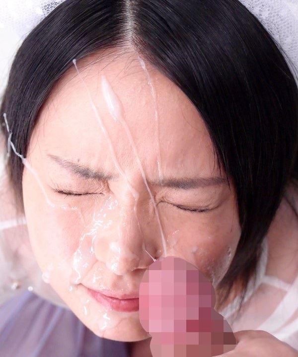 【顔射エロ画像】ロリ美少女や生意気な小悪魔ギャルに大量顔射wキレイなお顔がザーメンまみれの顔射エロ画像集!ww【80枚】 48