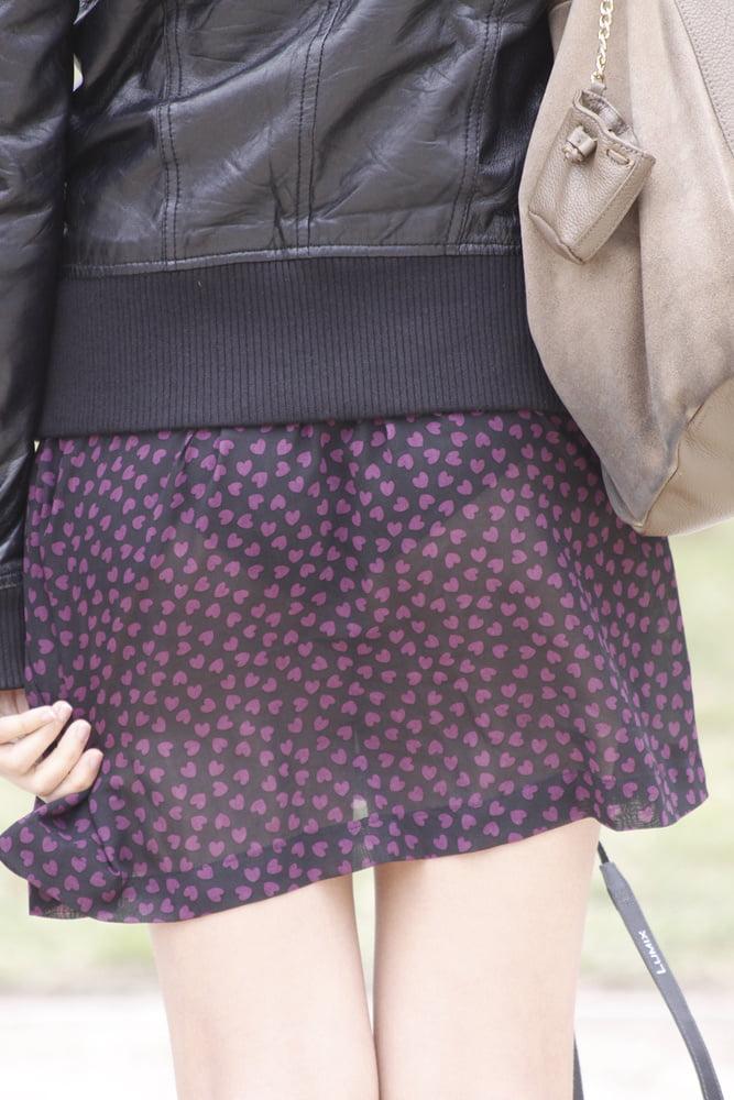 【透けスカートエロ画像】スカート透けてパンティー丸見えなのに気づかない素人女子たちの透けスカートのエロ画像集!ww【80枚】 55
