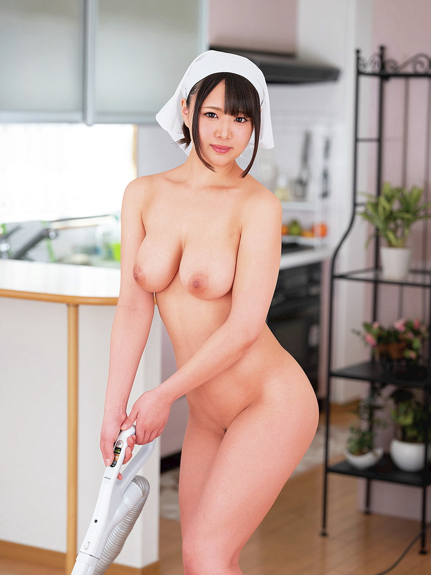 【家政婦エロ画像】四つん這いで掃除する巨乳でデカ尻の家政婦に興奮して残業セックスお願いしちゃう家政婦のエロ画像集ww【80枚】 34