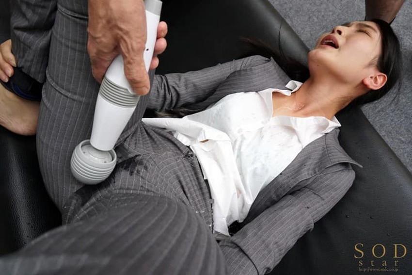 【パンツスーツエロ画像】キャリアウーマン風のパンツスーツOLのパンティーラインを盗撮したり着衣セックスで調教しちゃったパンツスーツのエロ画像集!ww【80枚】 34