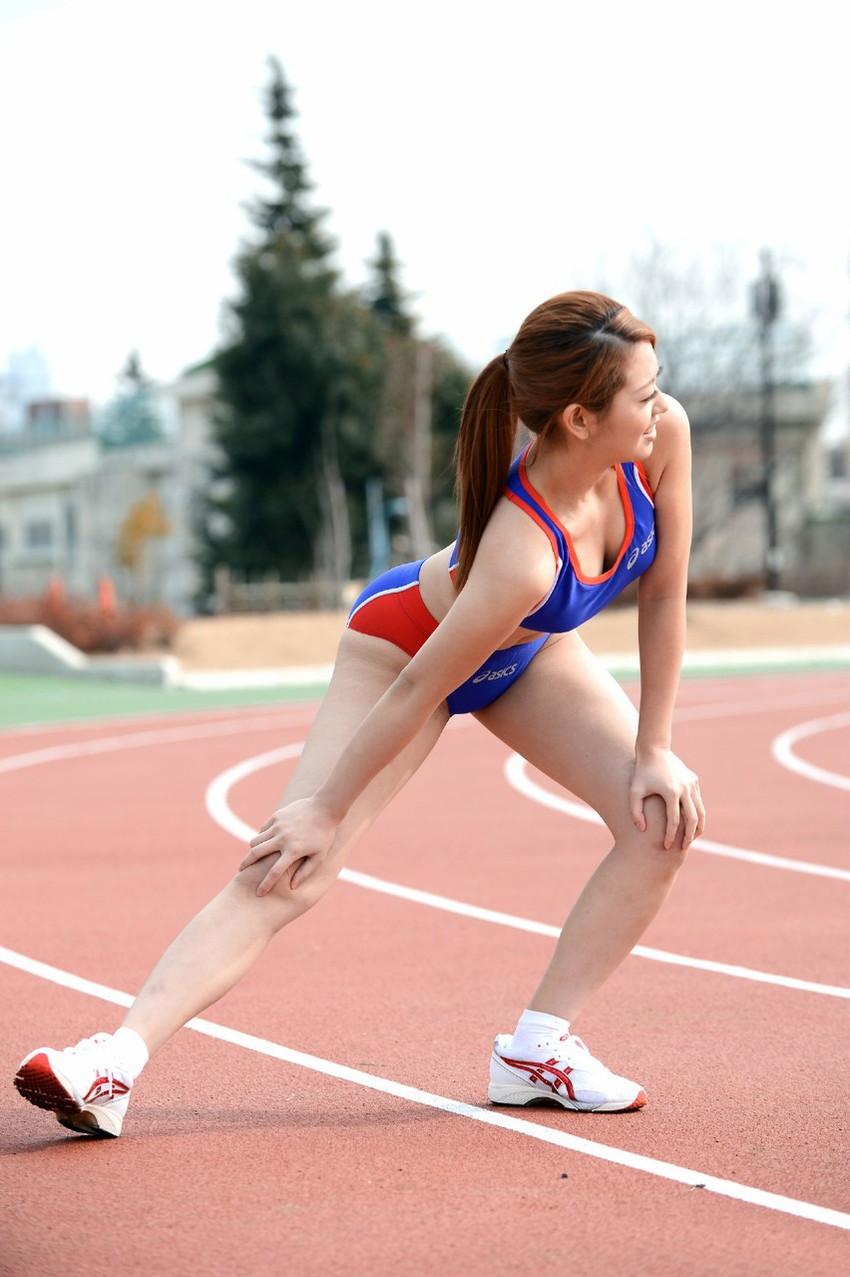 【スポーツ女子エロ画像】おまんこの締まり最高と言われるアスリート系スポーツ女子のエロ画像集ww【80枚】 53