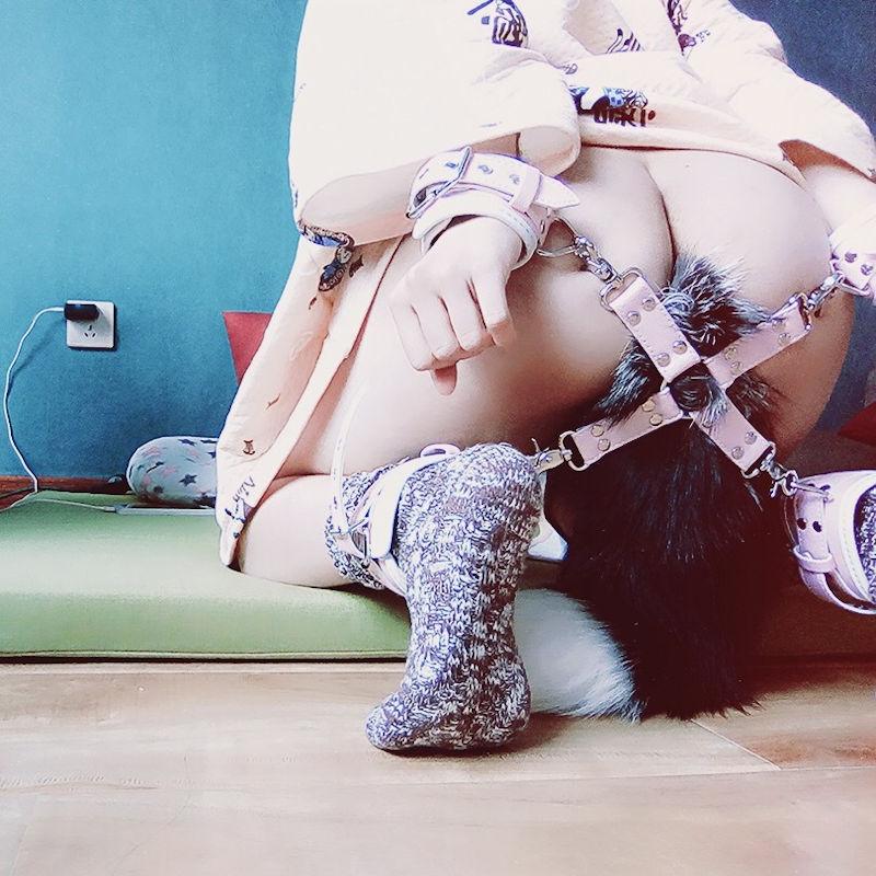 【テイルプラグエロ画像】美尻女子のアナルから尻尾が!いいテイルプラグですwwドマゾ娘の肛門にしっぽ付きアナルプラグをブチ込んだテイルプラグのエロ画像集!ww【80枚】 14