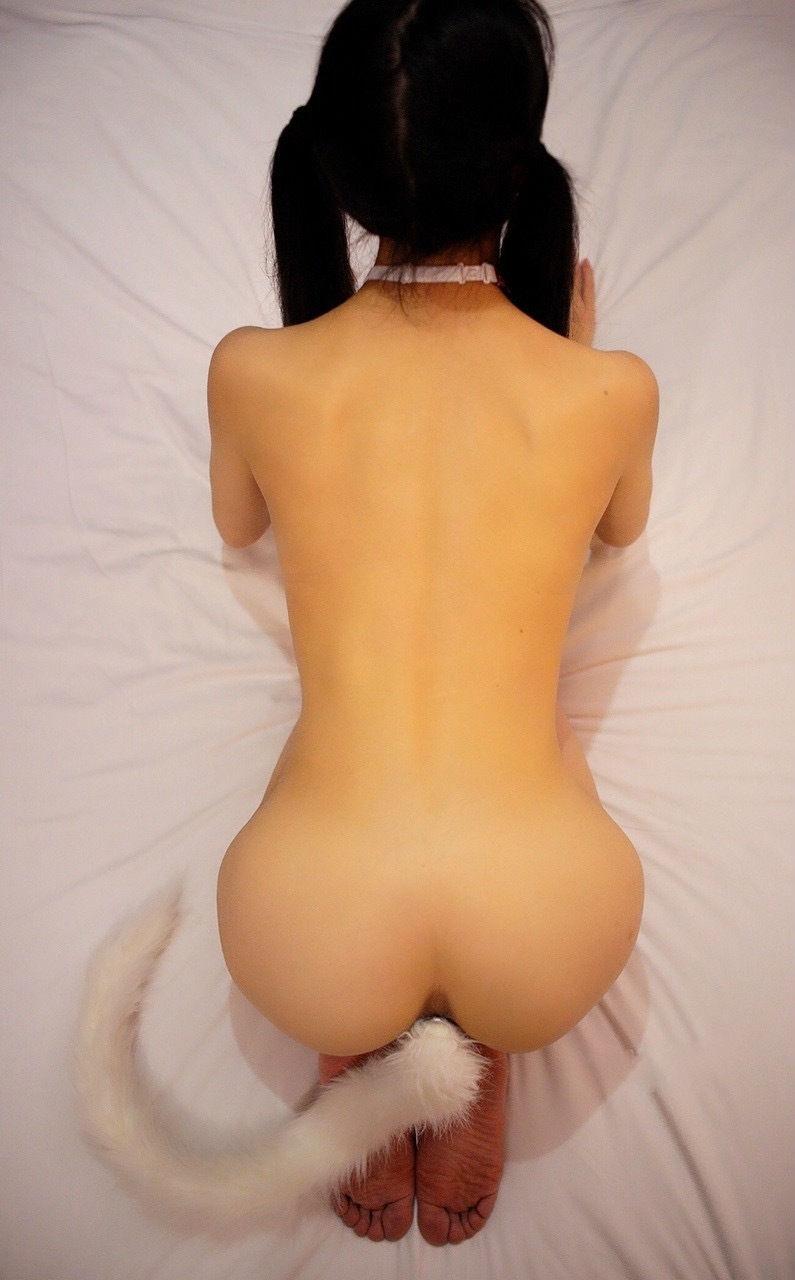 【テイルプラグエロ画像】美尻女子のアナルから尻尾が!いいテイルプラグですwwドマゾ娘の肛門にしっぽ付きアナルプラグをブチ込んだテイルプラグのエロ画像集!ww【80枚】 47
