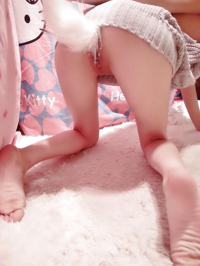 【テイルプラグエロ画像】美尻女子のアナルから尻尾が!いいテイルプラグですwwドマゾ娘の肛門にしっぽ付きアナルプラグをブチ込んだテイルプラグのエロ画像集!ww【80枚】 50