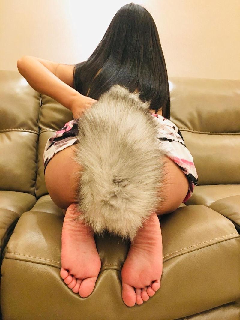 【テイルプラグエロ画像】美尻女子のアナルから尻尾が!いいテイルプラグですwwドマゾ娘の肛門にしっぽ付きアナルプラグをブチ込んだテイルプラグのエロ画像集!ww【80枚】 66