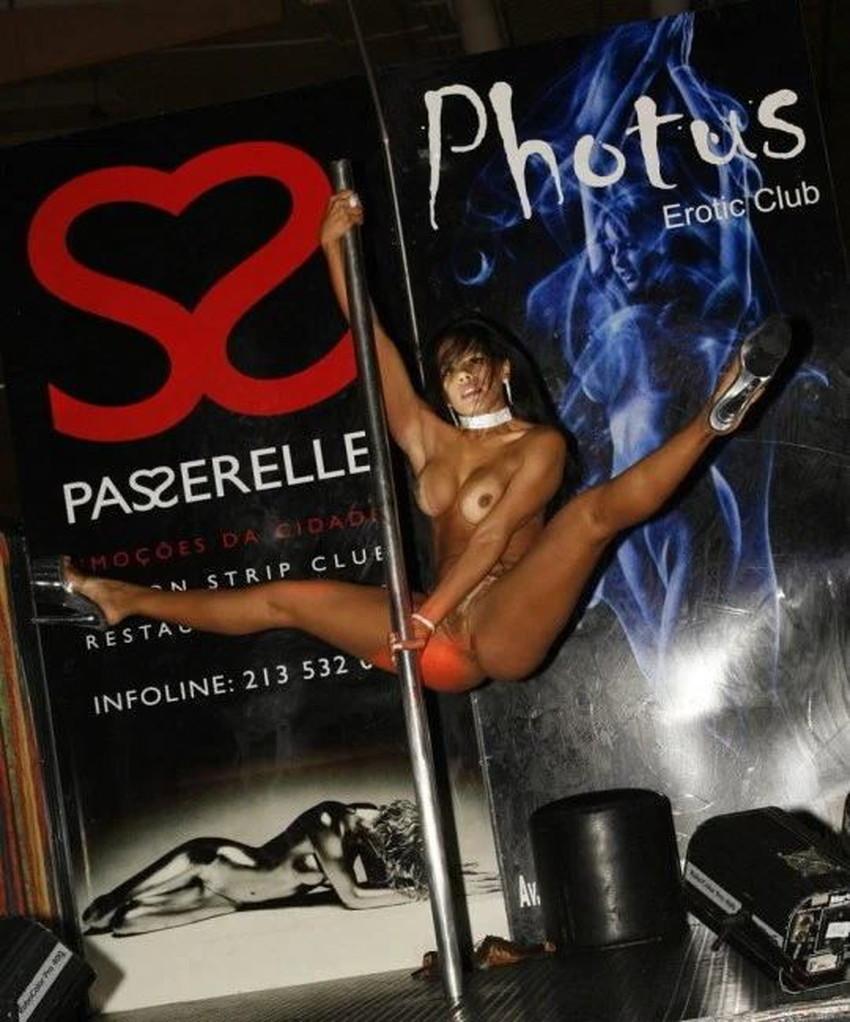 【ポールダンサーエロ画像】ポールダンサーが大開脚して筋肉美と締り良さそうなおまんこをチラ見せしてるポールダンサーのエロ画像集ww【80枚】 44