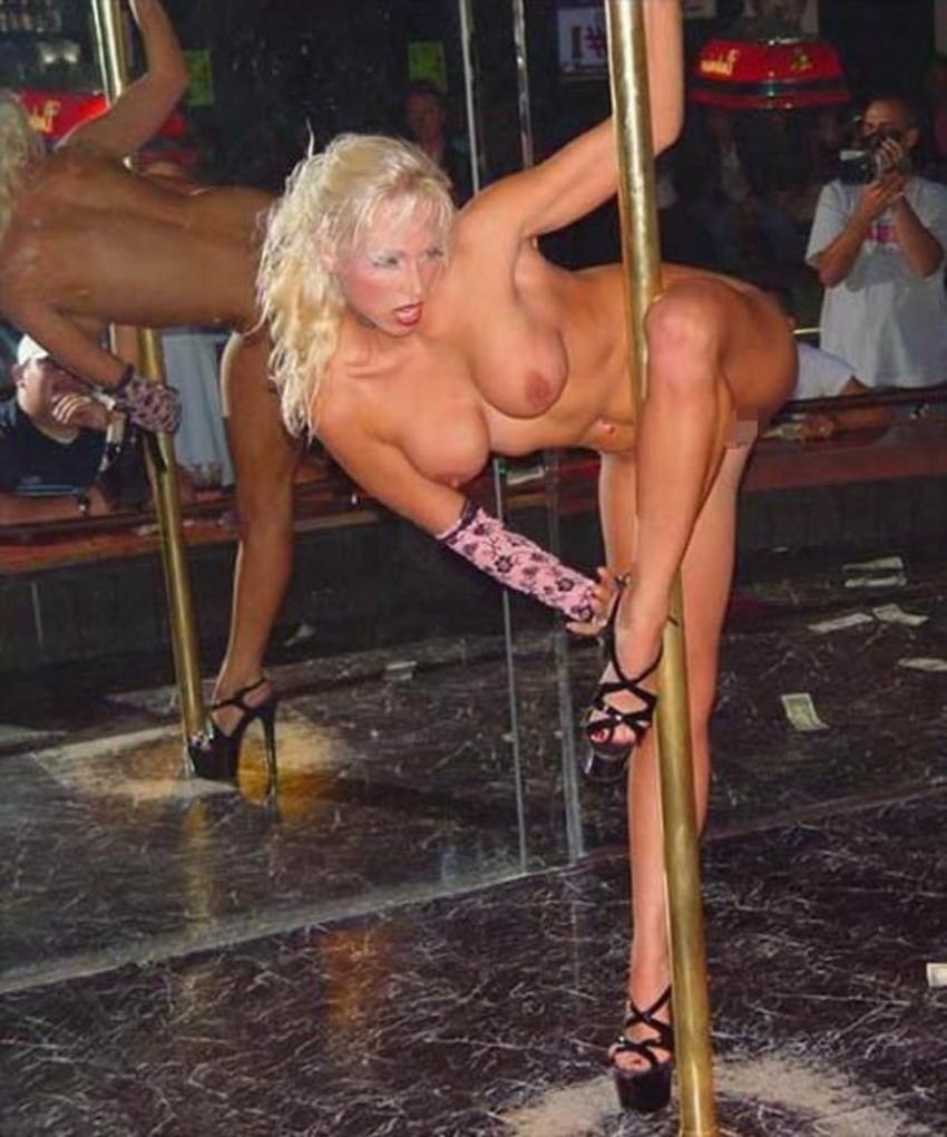 【ポールダンサーエロ画像】ポールダンサーが大開脚して筋肉美と締り良さそうなおまんこをチラ見せしてるポールダンサーのエロ画像集ww【80枚】 56