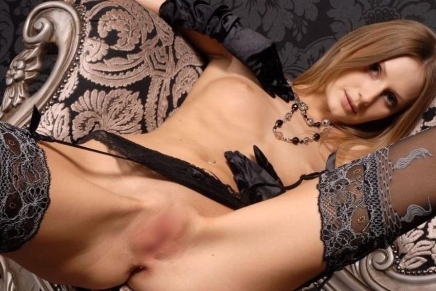 【ロシア人エロ画像】超美形でスタイル抜群なロシアン美女!金髪でパイパンに見える美マンにブチ込まれてるロシア人のエロ画像集ww【80枚】 13