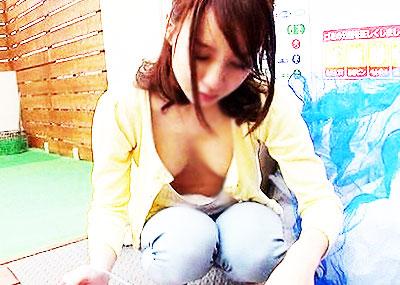 【ゴミ出し奥さんエロ画像】近所の美人妻がノーブラで胸チラさせてゴミ出ししてたのでその場で寝取ったゴミ出し奥さんのエロ画像集ww【80枚】