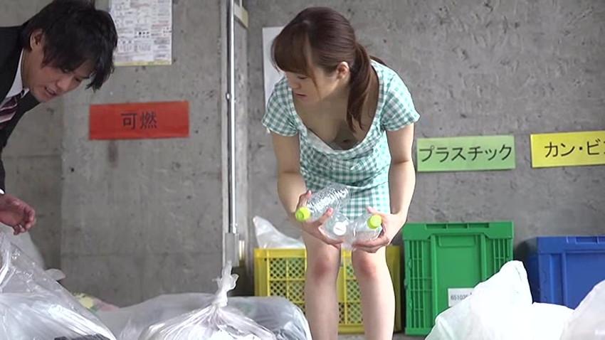 【ゴミ出し奥さんエロ画像】近所の美人妻がノーブラで胸チラさせてゴミ出ししてたのでその場で寝取ったゴミ出し奥さんのエロ画像集ww【80枚】 25
