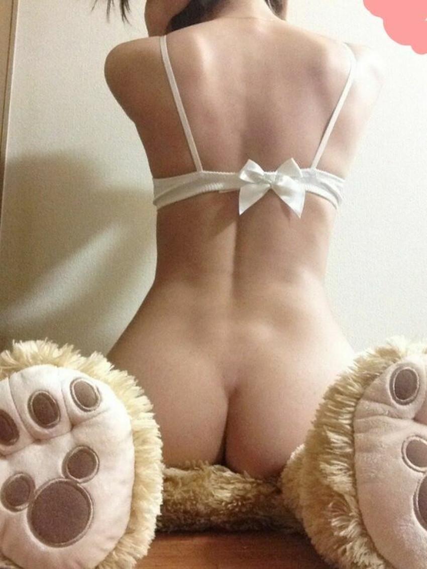 【自撮り尻エロ画像】美尻な素人女子が自慢のエッロいケツを自撮りしてネットに公開してくれた自撮り尻のエロ画像集!ww【80枚】 51