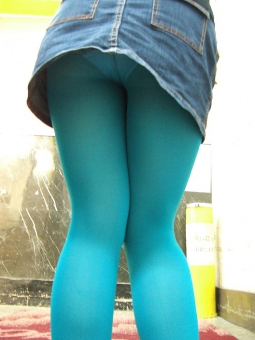 【カラータイツエロ画像】スレンダー美脚やむっちりわがまま美脚のS級女子達がカラータイツ越しに見せるカラフルなパンチラがエロ過ぎるカラータイツのエロ画像集!ww【80枚】 62