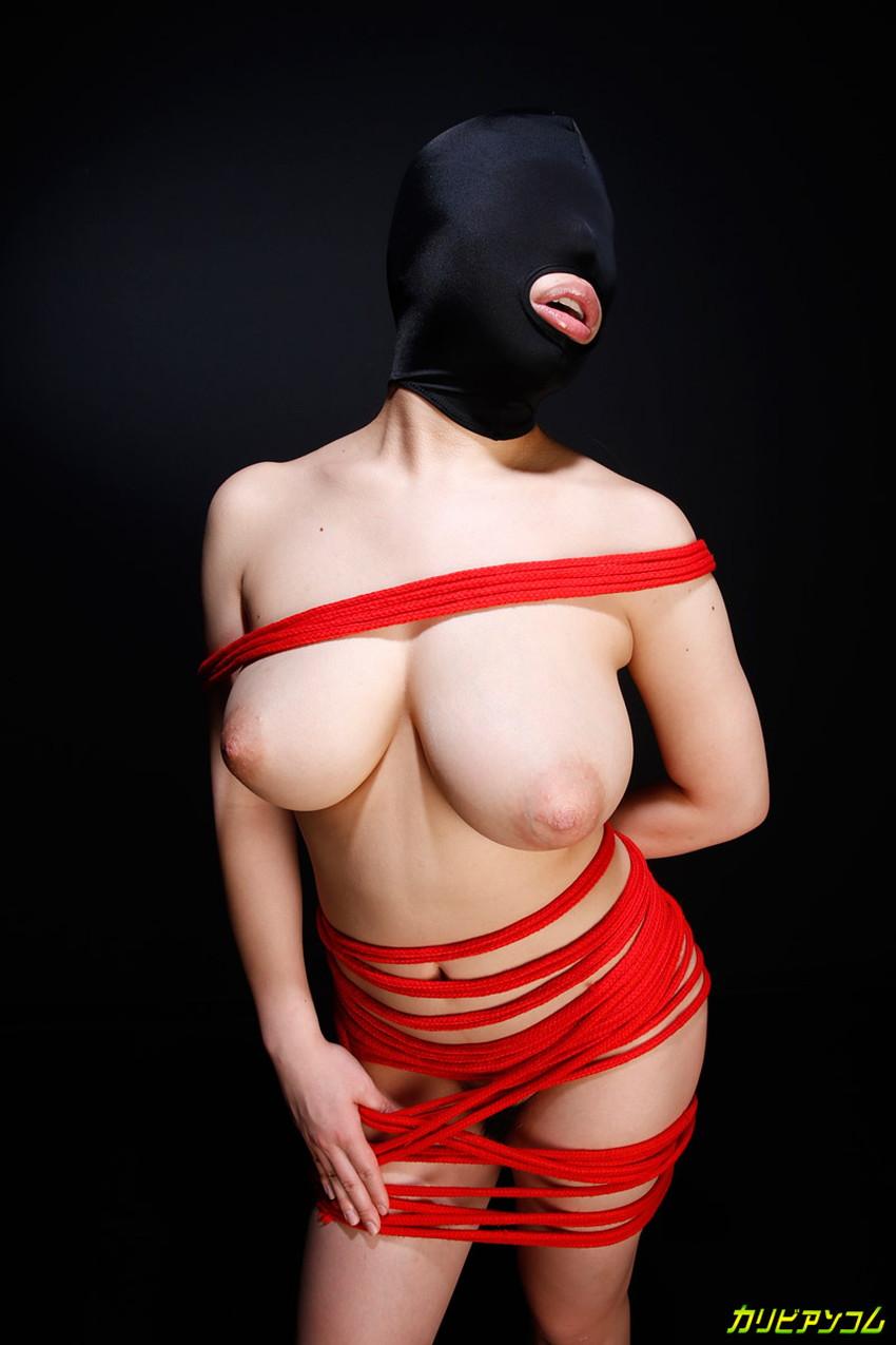 【マゾマクスエロ画像】ドMなデカパイ痴女に目隠しラバーマスク被せてイラマチオしたったマゾマスクのエロ画像集!ww【80枚】 38