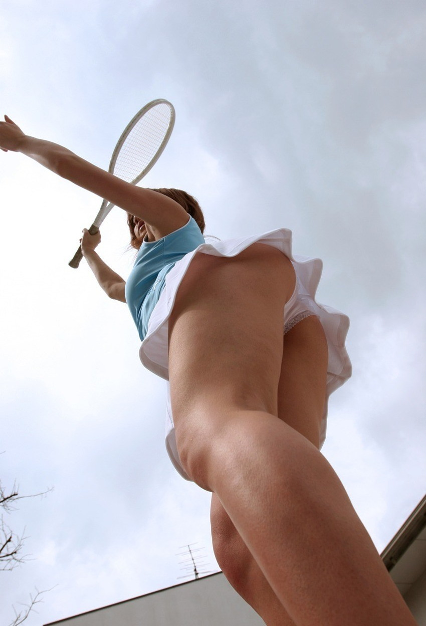 【アンスコエロ画像】テニス部美少女がアンスコモロ見え状態で着衣手マンや電マ責めされてるアンスコのエロ画像集!ww【80枚】 17