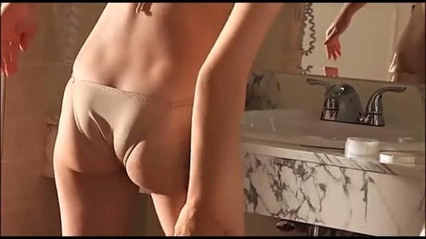 【肌色水着エロ画像】濡れると乳首やまんすじに貼り付いて全裸に見える肌色水着、湯葉水着とも言われる肌色水着のエロ画像集!ww【80枚】 54