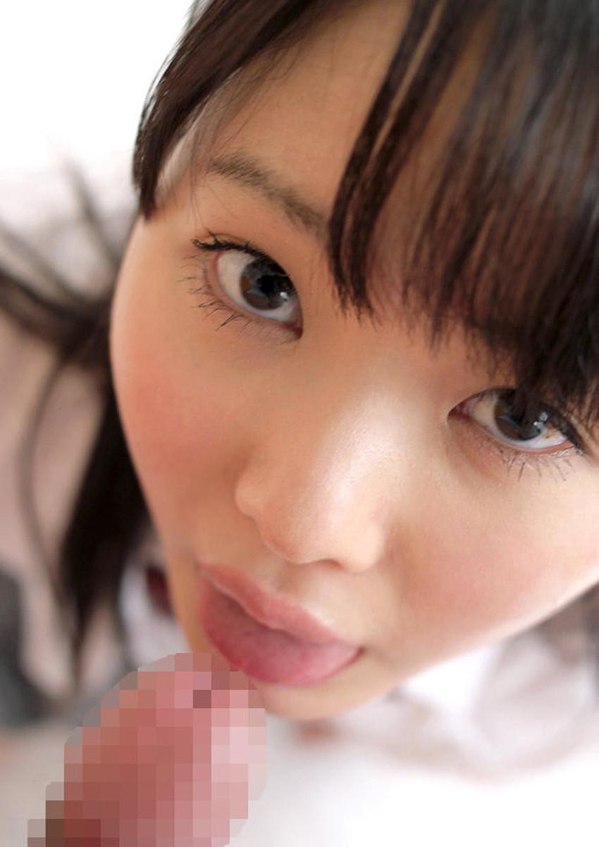 【JKフェラエロ画像】こんな学園生活したかった!美少女JKが制服姿でフェラしてくれるJKフェラのエロ画像集!ww【80枚】 55