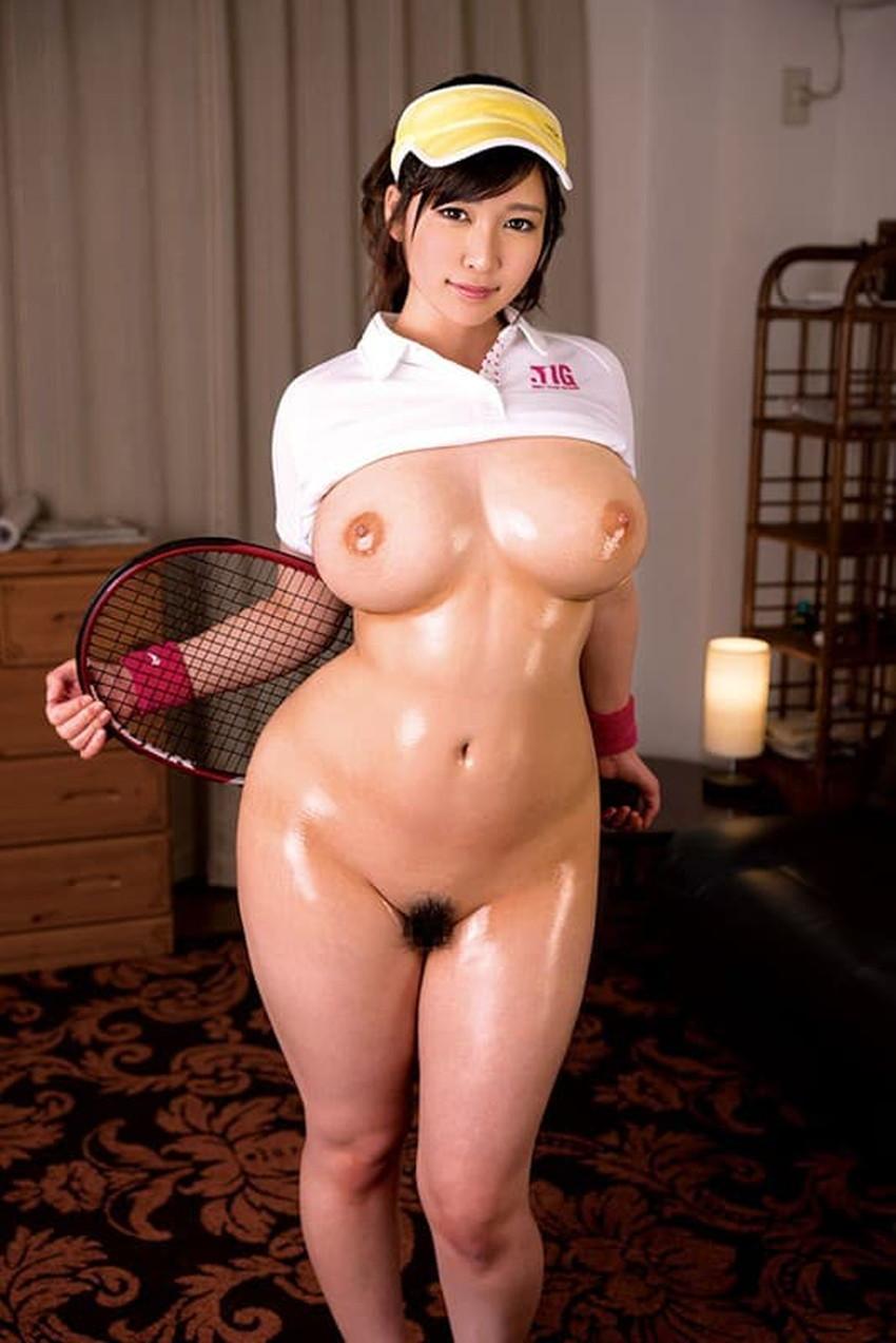 【テニスウェアエロ画像】テニスに勤しむお嬢様系のJDや運動部JKのアンスコやウェアをめくって汗だくセックスしたったテニスウェアのエロ画像集ww【80枚】 39