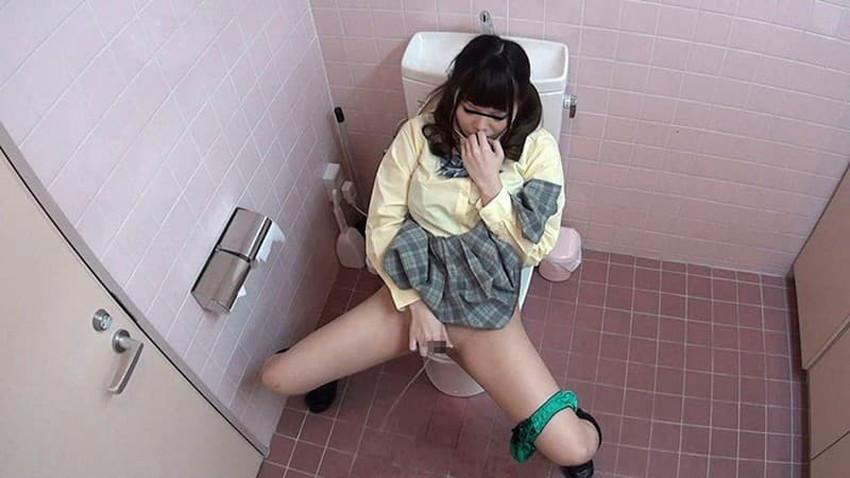 【トイレ盗撮エロ画像】素人OLやJKのナマ放尿やガチオナニーしてるところを隠し撮りしたったトイレ盗撮のエロ画像集!!ww【80枚】 05