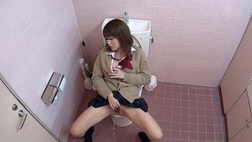 【トイレ盗撮エロ画像】素人OLやJKのナマ放尿やガチオナニーしてるところを隠し撮りしたったトイレ盗撮のエロ画像集!!ww【80枚】 23